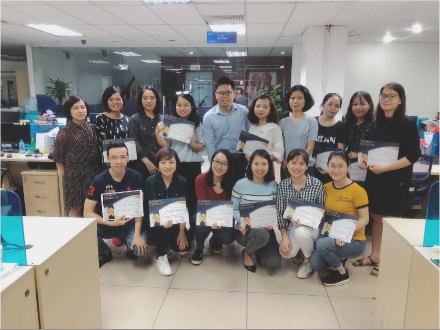 Lớp SQL & Excel VBA thứ nhất tại ngân hàng quốc dân NCB