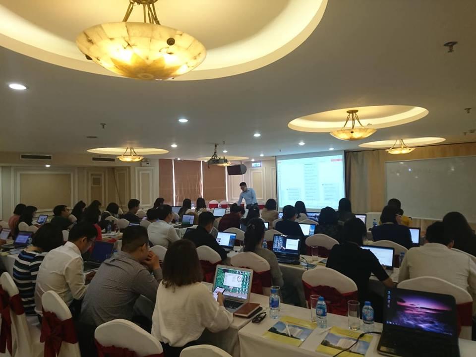 Lớp Excel nâng cao VCB Hà Nội