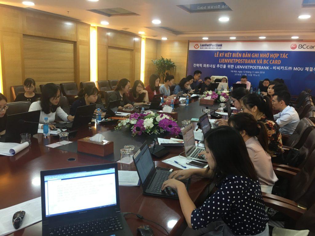 Lớp SQL & Excel VBA ngân hàng Liên Việt LPB thứ nhất