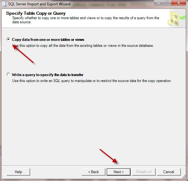 Import file Excel vao SQL Server_SQL 64 bit va Office 32 bit_Buoc 10