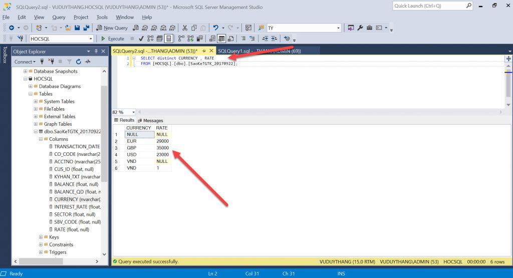 B2 Su dung menh de distinct trong SQL Server