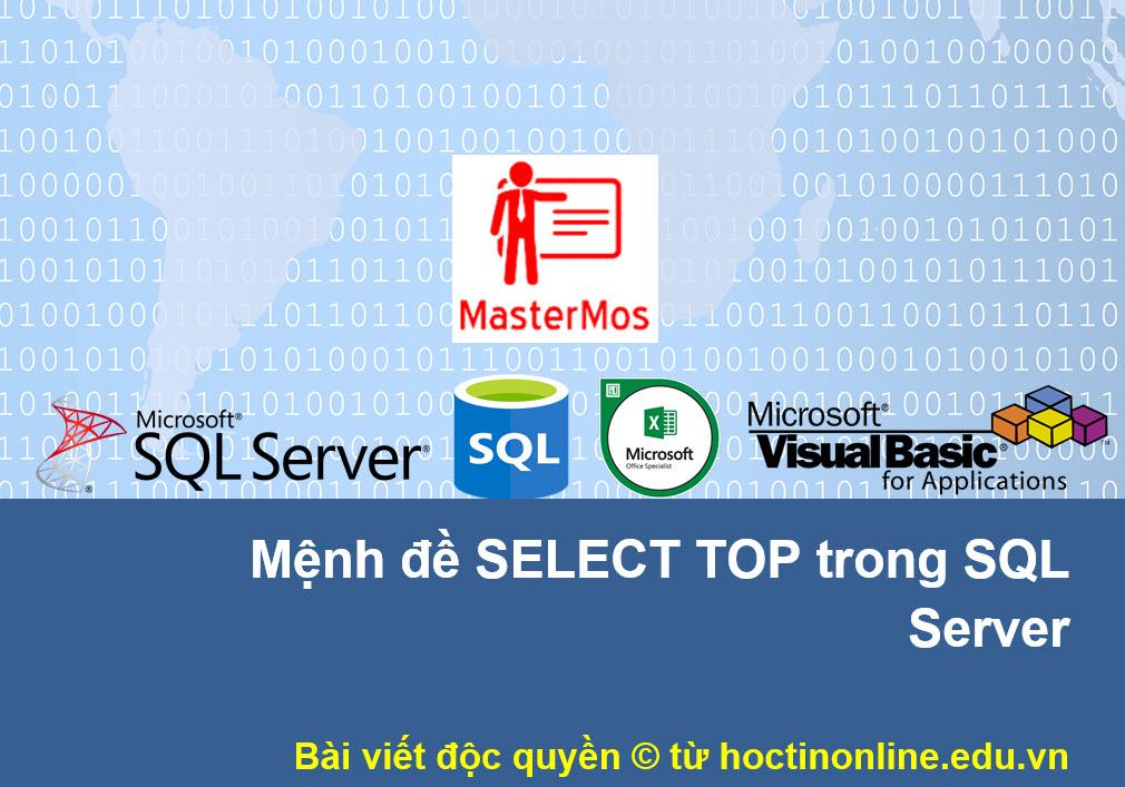 Menh de SELECT TOP trong SQL Server
