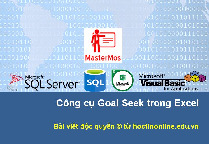 2. Cong cu Goal Seek trong Excel - Trang bia