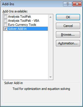 3. Cong cu Solver trong Excel - Phan 1 - Vi du 2
