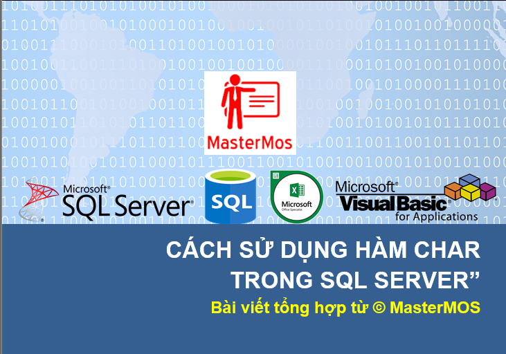 Cach su dung ham CHAR trong SQL Server