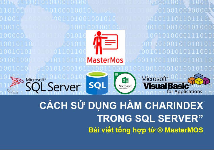 Cach su dung ham CharIndex trong SQL Server